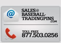 Sales baseball trading pins